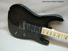 Kramer Striker 211 Guitar, Trans Black