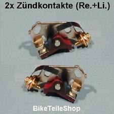 2 Unterbrecherkontakte Unterbrecher Zündkontakte f. Kawasaki Z 650 B C D SR Z650