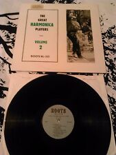 THE GREAT HARMONICA PLAYERS VOLUME 2 LP EX!!! LTD UK ROOTS RL - 321