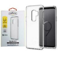 NEW Griffin Survivor Clear Slim Fit Snap On Tough Case Cover Samsung Galaxy S9