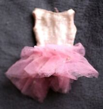 VESTIDO Original de Muñeca SKIPPER, 1963 (BARBIE SISTER. DOLL). BALLERINA DRESS.