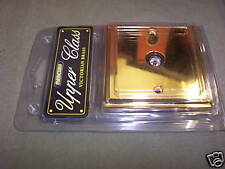 TV Aerial Isolated Wall Socket Victorian Brass 1 Gang OM0933