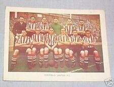 #D80.  1938-39 FAMOUS SOCCER  TEAM - SHEFFIELD UNITED FC