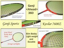 Genji  7600Z + Nano F-88 + Overgrips + Hi-Soft Grip + Dual Rackets Bag