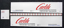 Tamiya 1/14 Truck 'Carlile' Ice Road Truck Reefer trailer stickers decals