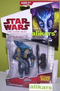 N CW15 - Whorm Loathsom - Action Toy Figure Star Wars The Clone Wars Series