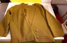 Holt Renfrew Women's size 16 Sweater Cardigan decent vintage condition