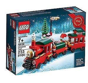 Lego Seasonal 40138 - Christmas Train Limited Edition New MISB