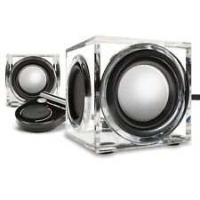 GOgroove Sonaverse CRS USB Powered 2.0 Channel Stereo Speakers