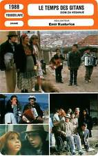 FICHE CINEMA : LE TEMPS DES GITANS - Dujmovic,Kusturica 1988 Time Of The Gypsies
