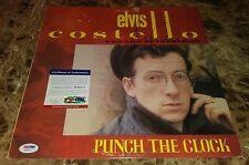 Elvis Costello Music Legend Signed Autographed Album Cover Rare Psa/Dna Coa C