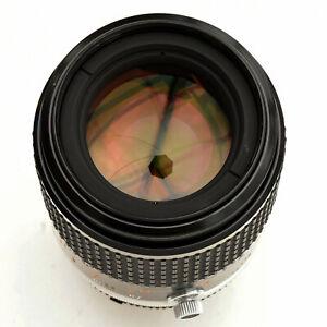 Nikon Micro Nikkor 105mm f/2.8 AIS Macro Spr Shp Lens. Nr. Mint. See Test Images