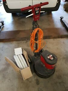 Victor 400 europa Floor Polishercleaner with spare pads