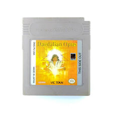 Daedalian Opus Game Boy Game USED