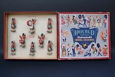 Rare Herald Set # H7105 -  Gordon Highlanders Regimental Band Boxed, circa 1955