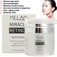 MELAO 2.5% RETINOL VITAMIN A Anti Aging Wrinkle Acne Hyaluronic Acid Face