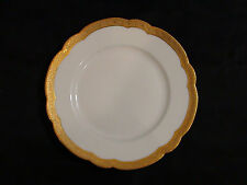 Rare Bernardaud & Co Limoges Porcelain & Gold Gilt Plate Circa 1900 - 1914