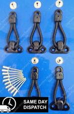 Bungee Loops Fitting 5 pk 4WD Bunji Tonneau Ute Hook Marine Repair Loop  5 sizes