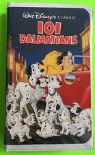 101 Dalmatians VHS 1992 Black Diamond Classics VHS Walt Disney 1263