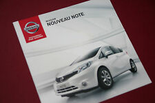 Nissan Note Brochure 2013 French