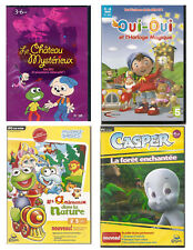 Lot de 4 jeux PC pour enfants de 3 a 7 ans (NEUF EMBALLE)