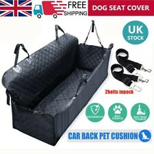 More details for pet car seat cover dog safety protector mat rear back seat hammock cushion mat