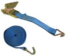 800KG X 5 MTR RATCHET STRAP / LASHING WITH CLAW HOOKS