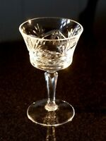 Beautiful Czech Crystal Cocktail Glass