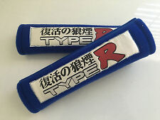 TYPE R Soft Car Seat Belt Cover Shoulder Harness Pads