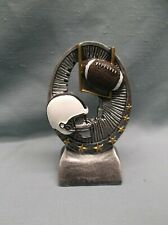 oval football trophy resin Rg 525