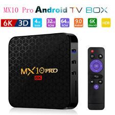 MX10 PRO Smart TV Box H6 Quad Core Android 9.0 Wifi 6K Media Player 4G+32GB HDMI