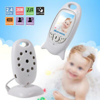Wireless Camera Household Baby Monitor Video Night Vision With 8 Cradlesong