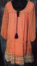 Peplum Shirt SiIze  XL by As You Wish Dillard's Fully Lined Boho Hippie Chic