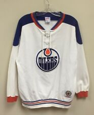 Vintage Edmonton Oilers CCM NHL Jersey Sweater Mens Size Large