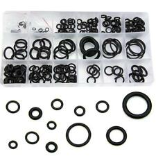 225 x Rubber O Ring O-Ring Washer Seals Assortment Black for Car Durable Set DL