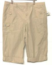NEW size 18W Relativity CROPPED PANTS cotton capri