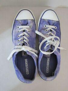 Converse Chuck Taylor Men's 7.5 - Women's 9.5 purple tie dye 142452f