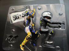 Minichamps Escala 1/12 Valentino Rossi Ángel Nieto estatuilla Lemans 2008