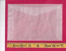 """50 NEW JBM #8 Glassine Envelopes 4-1/2"""" x  6-5/8"""""""