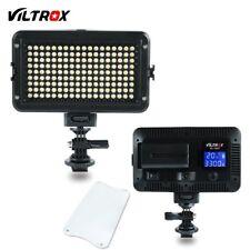 Viltrox VL-162T LED LCD Bi-Color Dimmable DSLR Wedding Studio Video Light Lamp