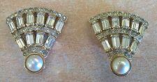 VALENTINO orecchini Vintage bijoux lusso firmati originali a clips