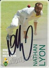 Nathan Lyon Australia National Cricket Trading Cards