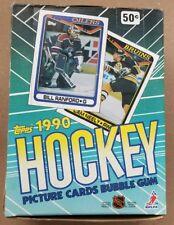 NEW Sealed Packs 1990 1990-91 Topps NHL Hockey Wax Box 36 Packs