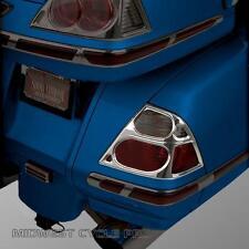 Chrome Saddlebag Light Grilles for 2006-10 Honda Goldwing GL1800  (52-775)
