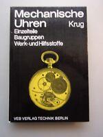 Mechanische Uhren Einzelteile Baugruppe Werk- und Hilfsstoffe 1987