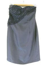 Stunning Sz 10 Be Seduced Luxe Silk Mini Cocktail Dress Designer