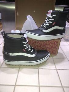 VANS Standard Mid MTE black snow boots vwaterproof VN0A54FUY28 Size 10 Men