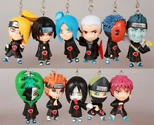 Naruto Akatsuki 11pcs Vol. XVII Characters' Figure Style Keychains Loose Pack