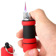 Turbo Torch Lighter Portable Outdoor Waterproof Dumbbell Survival Tool Gift