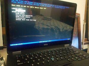 Dell latitude e7470 i7 touchscreen No HDD
